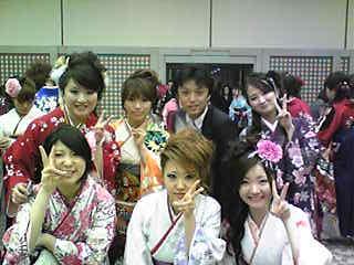 卒業式。田和さんと.JPG