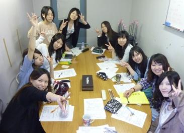 2011年度粟屋ゼミ10名全員集合.JPG