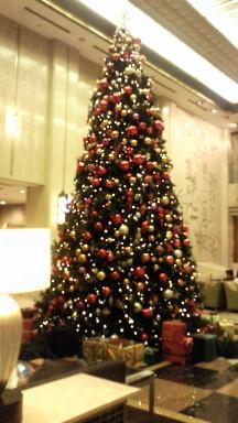 2012年のメトロポリタンホテルのツリー.jpg