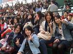 野球観戦ゼミ生.JPG