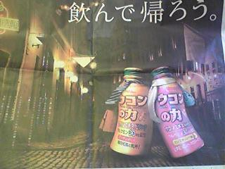 ウコンの力広告.JPG