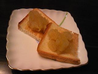 トーストに文旦ジャム.JPG
