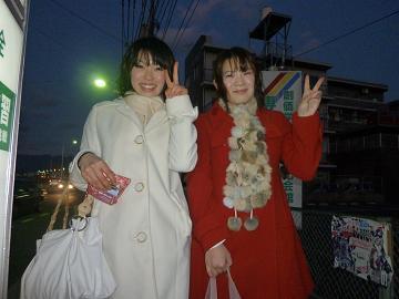 赤いコート,白いコート.JPG