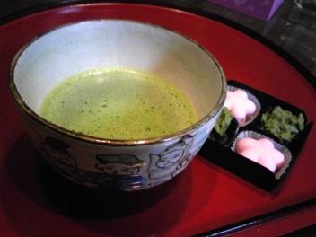 お抹茶 with バレンタインチョコ.jpg