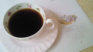 きままなターシャのコーヒー.jpg