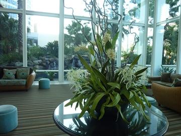 ウォーターマークホテルの花.jpg