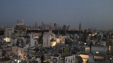 エクセルホテル東急からの夜明け前.jpg