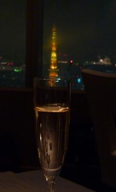 グラスの中の東京タワー.JPG