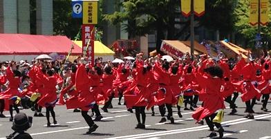 フラワーフェスティバルパレード.JPG