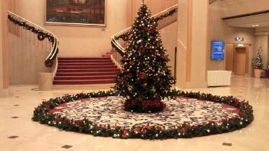 リーガロイヤルホテル広島のクリスマスツリー.jpg