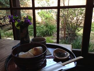 宮島のカフェでぜんざい.jpg